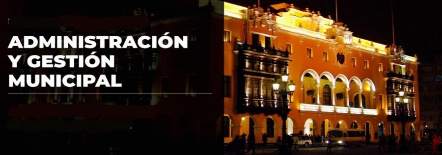 DIPLOMATURA - ALTA GERENCIA EN ADMINISTRACIÓN MUNICIPAL
